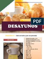 DESAYUNOS - SYPA