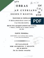 Cartas de San Cipriano