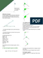 Tipos de Ángulos y triangulos