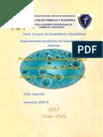 Qimica Organica I Informe 1