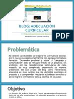 Presentación de Blog