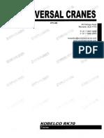 Truline Crane Kobelco RK70M