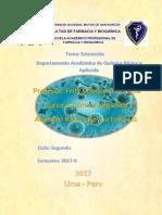 Quimica Organica I 2do Informe
