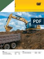 Catálogo excavadora hidráulica 320