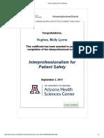 ipep certificate