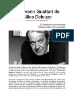 287176452 El Devenir Guattari de Gilles Deleuze Ana Carolina Patto Manfredini