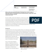Report NPS Effects of the International Fence ORGAN PIPE CACTUS 200808