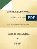 6.- DINAMICA ROTACIONAL
