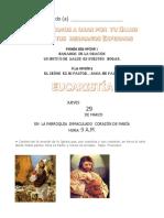 INVITACION  EUCARISTIA  ENFERMOS
