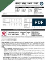 04.21.18 Mariners Minor League Report