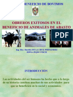Charla de Beneficio 2014