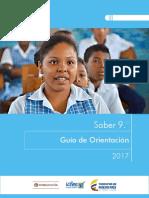 Guia de Orientacion Saber 9 2017