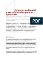El derecho penal ambiental y las dificultades para su aplicación.docx