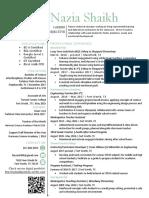 mansfield may 2018 resume pdf