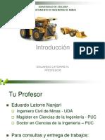 Carguío y Transporte 1 Met Expl Indices