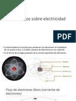 conceptos sobre electricidad