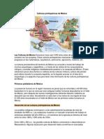 Cultoras Prehispánicas de México