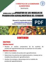 Análisis de Modelos Agroalimentarios Ing. Manuel Suquilanda
