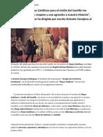 El nombre de Reyes Católicos para el Jardin del Castillo