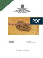 Geoquimica de La Fosilizacion