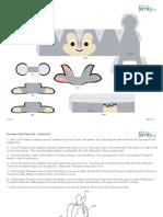Thumper Cutie Papercraft Printable 0210
