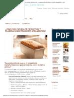 ¿Cómo Es El Proceso de Producción y Elaboración de Productos de Panadería_ – Icpp