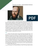 Biografia de São Francisco de Sales