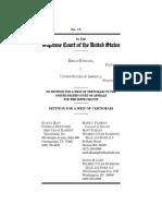 Estrada v. United States Petition for a Writ of Certiorari