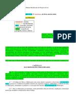 PMJ - Minuta Modificada Do Projeto de Lei Com Os Artigos Ate 61