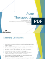 acne therapeutics 2018