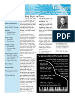 February 2008 Tidings Newsletter, Temple Ohabei Shalom