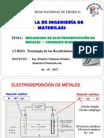 Cromado Unidad II (Clase 02 2017)
