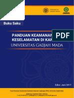 Buku Saku Panduan Keamanan Dan Keselamatan Di Kampus UGM