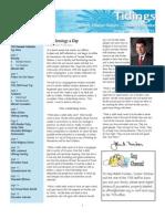 December 2008 Tidings Newsletter, Temple Ohabei Shalom