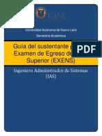Guia Sustentante EXENS IAS