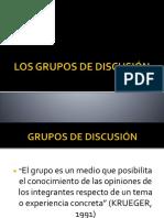 Los Grupos de Discusión