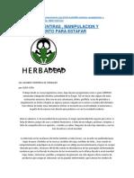 HERBALIFE MENTIRAS , MANIPULACION Y ADOCTRINAMIENTO PARA ESTAFAR.docx