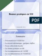 Présentation OZSSI - Bonnes pratiques SSI - CDG54