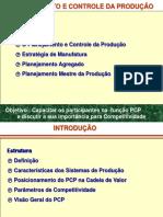 c1- O Planejamento e Controle Da Produção