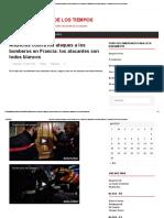 Anuncios Contra Los Ataques a Los Bomberos en Francia_ Los Atacantes Son Todos Blancos _ Postales Del Fin de Los Tiempos