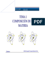 1-Tema 1-Composicion de La Materia