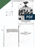 6. MARX y ENGELS. La Ideología Alemana. Introducción (Fragmentos) y Tesis Sobre Feuerbach