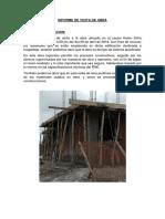 Informe de Vicita de Obra Costos y Presupuestos