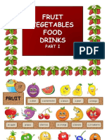 Fruit Vegetables Food Drinks Part1 Games 8383