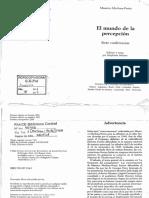 10. MERLEAU-PONTY. El mundo de la percepción. Siete conferencias. Conferencias 1, 5 y 6.pdf