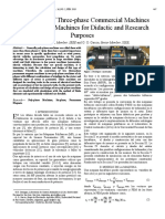 Conversion of Three-phase Commercial Machines into Six-phase Machines for Didactic and Research Purposes