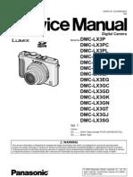 Panasonic LX3 Service Manual