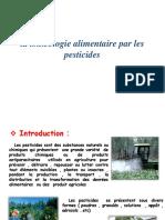 La Toxicologie Alimentaire Par Les Pesticides