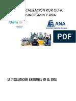 PPT Fiscalización Ambiental OEFA ANA