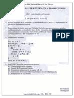 Examen Final Lenguajes y Traductores 2010-I - Pariona